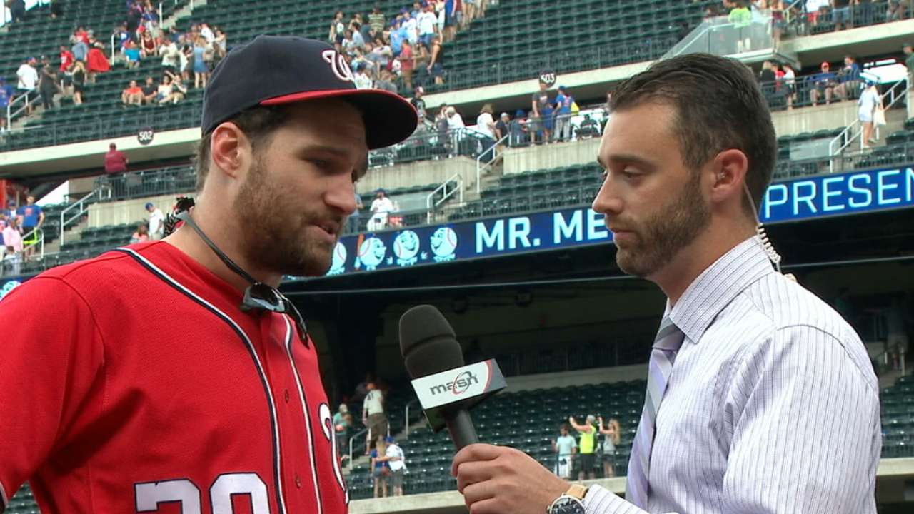 Murphy helps 1st-place Nats build 2nd-half pep