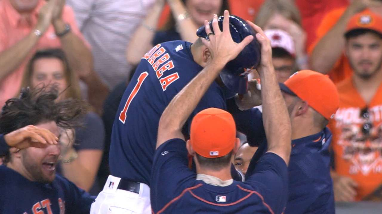 Must C: Astros walk off on A's
