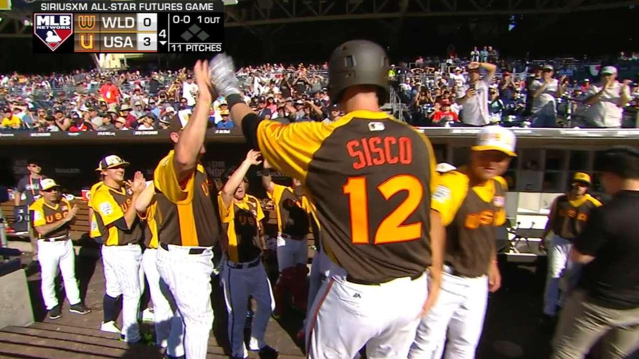 O's prospect Sisco homers for U.S. Team