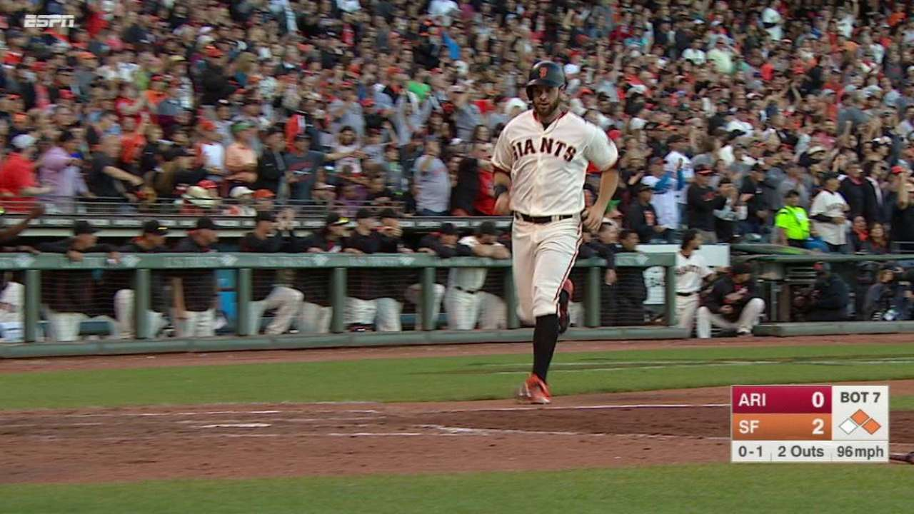 Crawford's two-run double