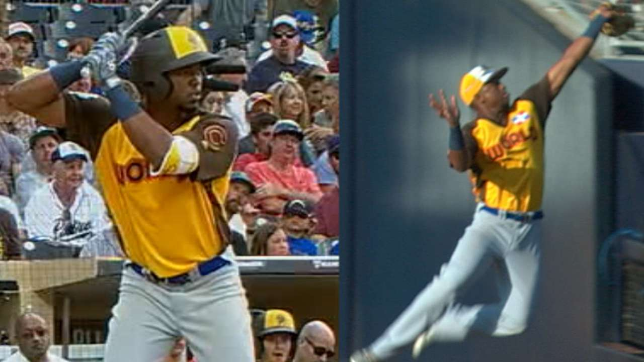 Jimenez does it all in big Futures Game performance