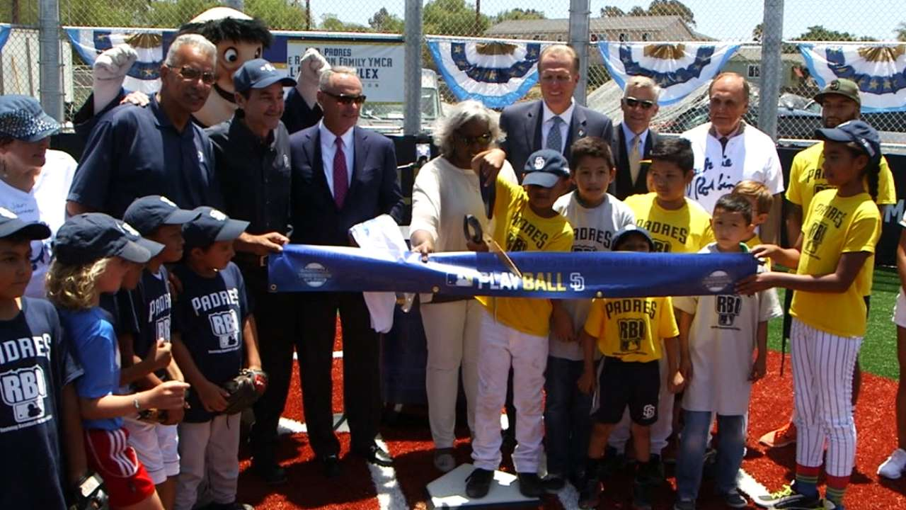 MLB dedicates field in Robinson's honor