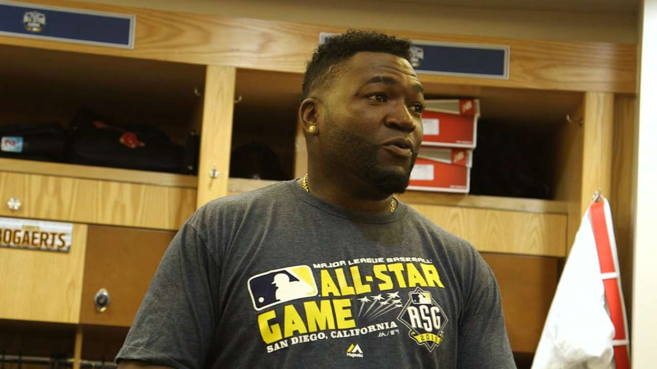 Ortiz's ASG farewell speech