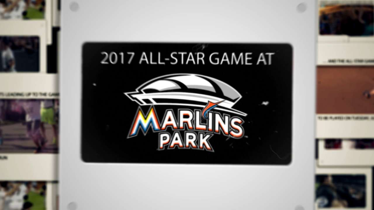 Miami on clock for 2017 All-Star Game