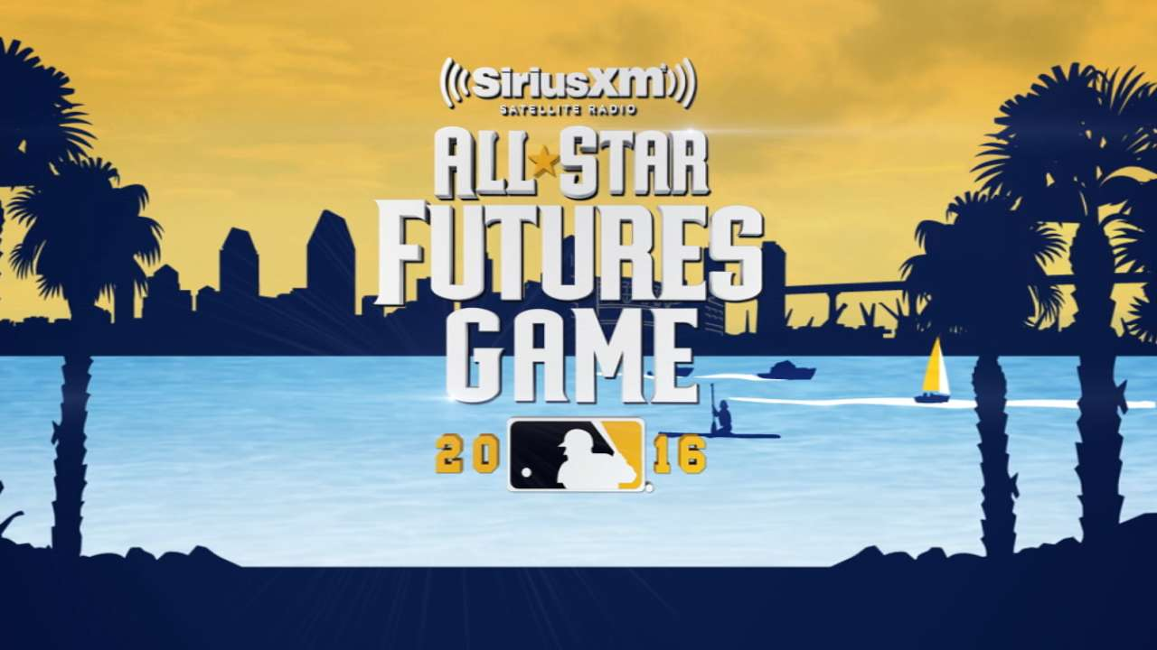 Dozier, Bonifacio represent in Futures Game