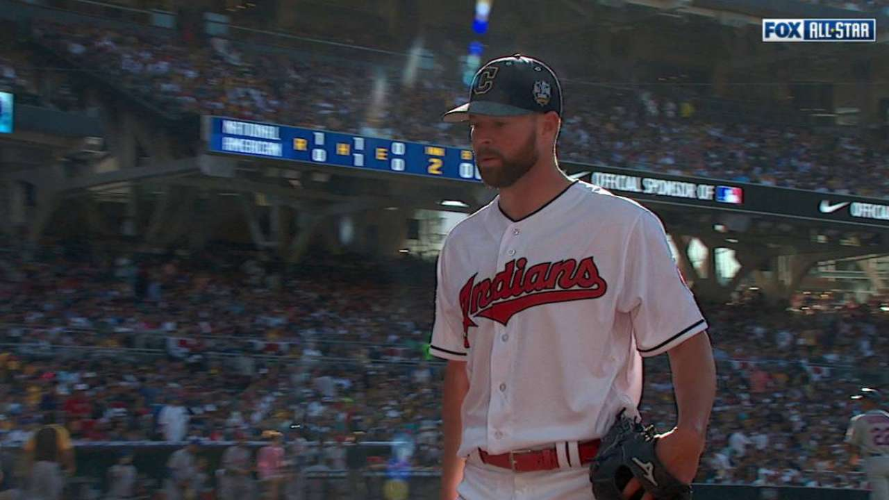Kluber glad to help AL to home-field advantage