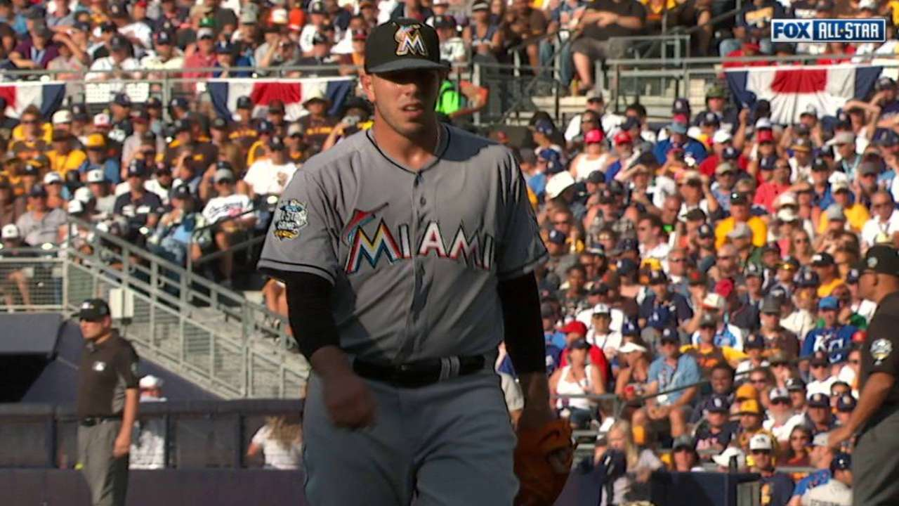 Fernandez strikes out Trout