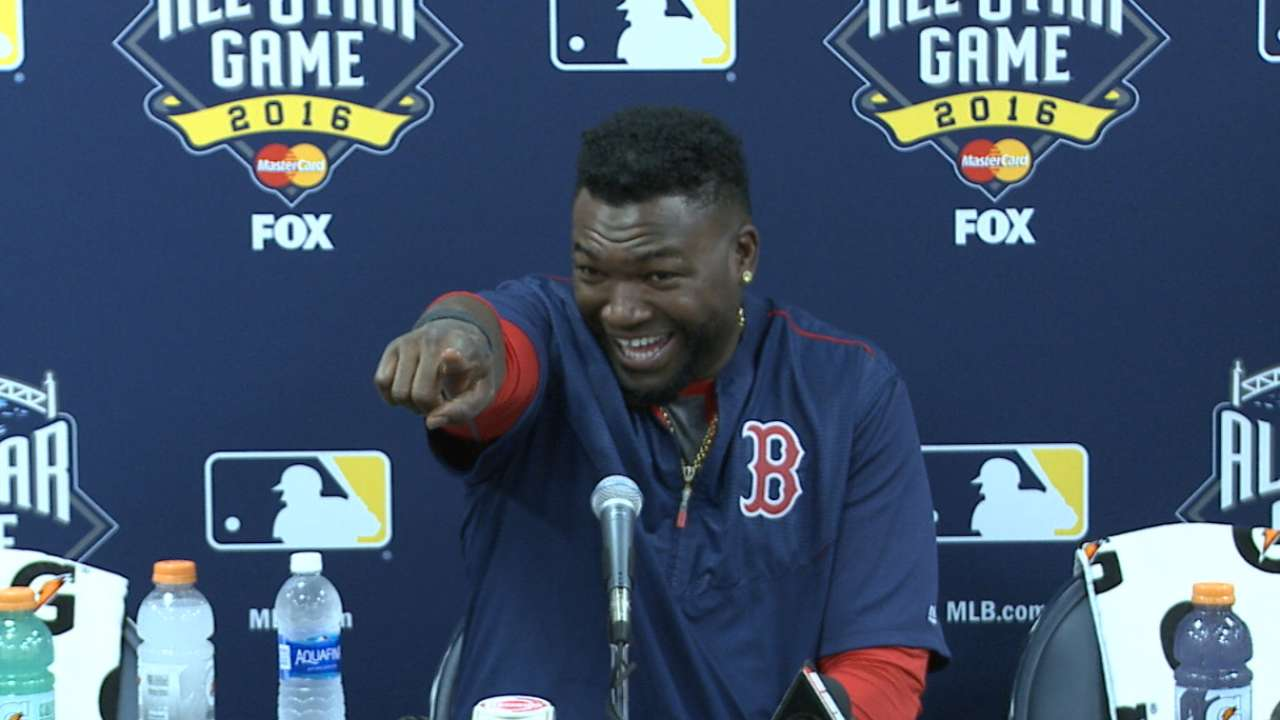 Papi on final ASG appearance