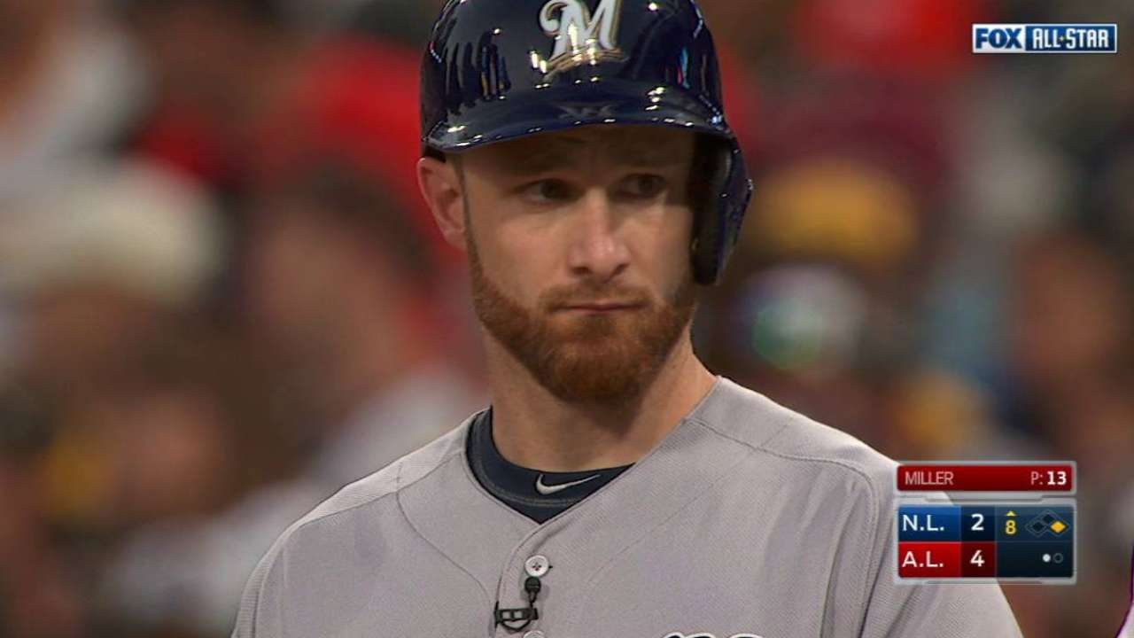 Lucroy stays perfect with another All-Star hit