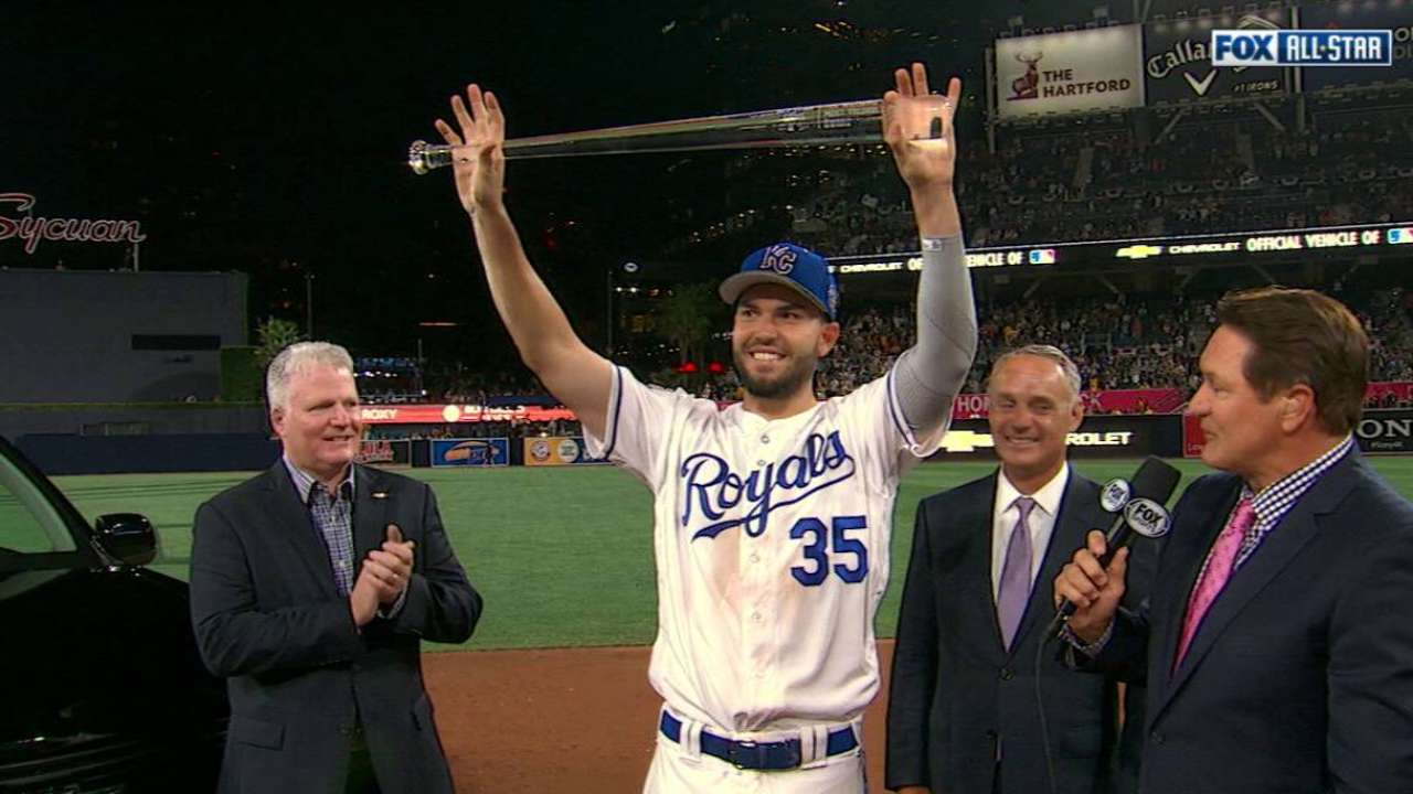 Catalyst Hosmer captures All-Star Game MVP