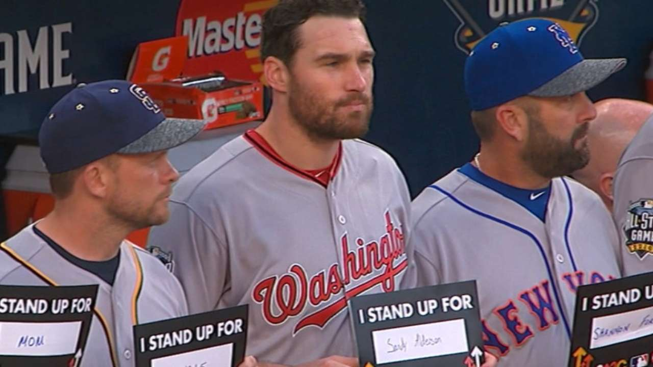Murphy Stands Up To Cancer for Alderson