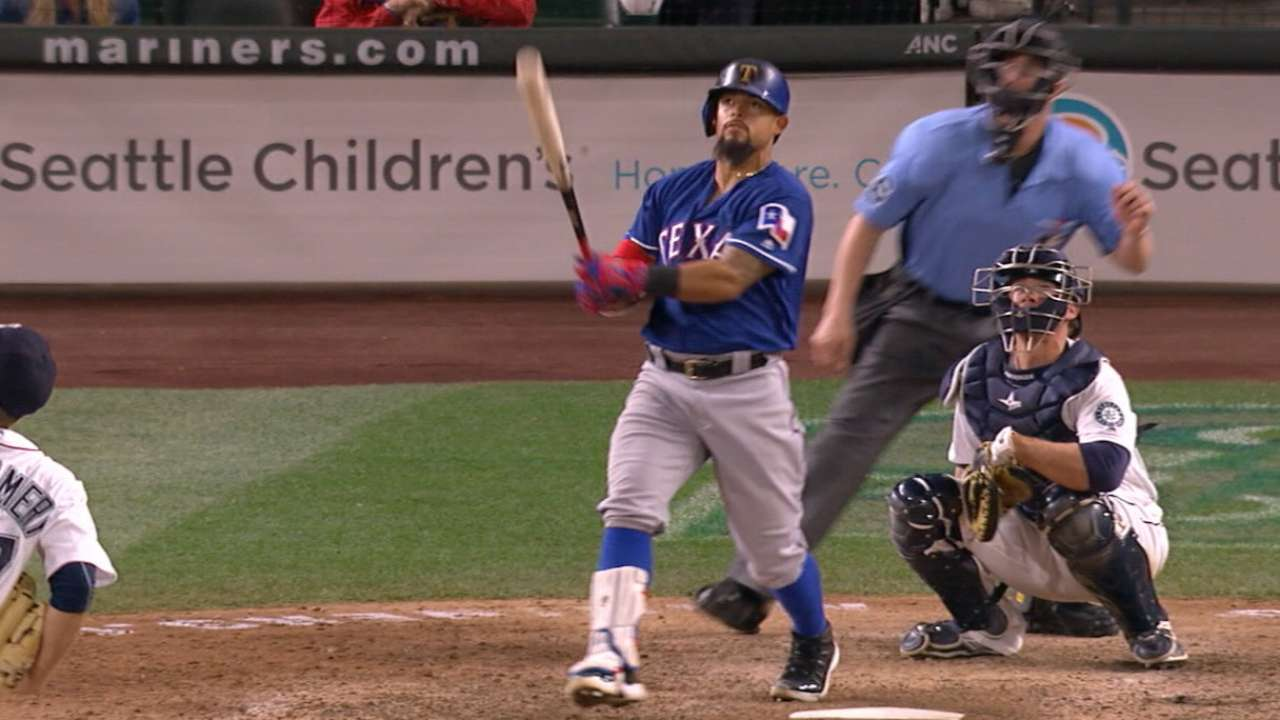Battle-tested Rangers end first half atop AL