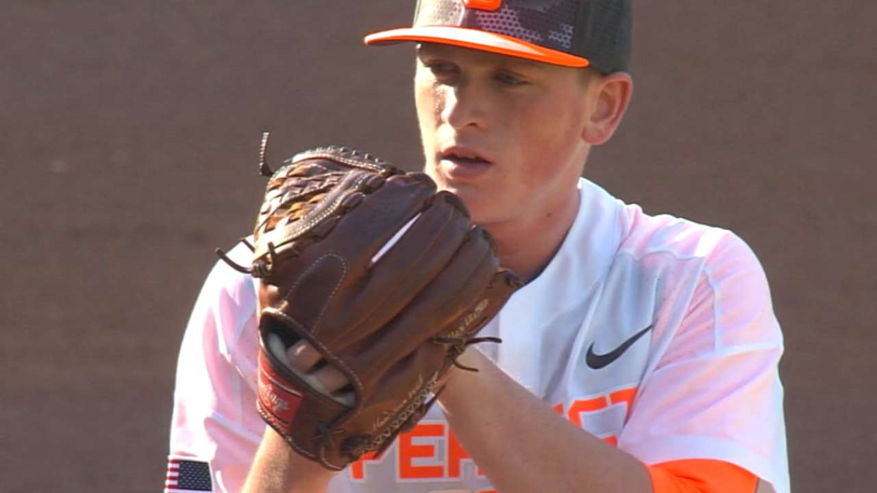 Red Sox ink top Draft pick Groome