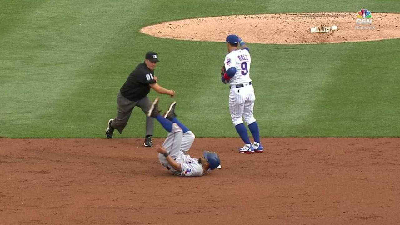 Contreras cuts down Odor