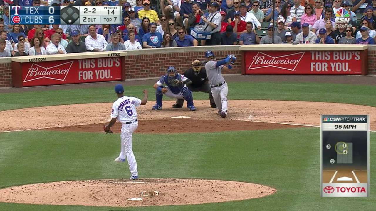 Edwards Jr. strikes out Chirinos