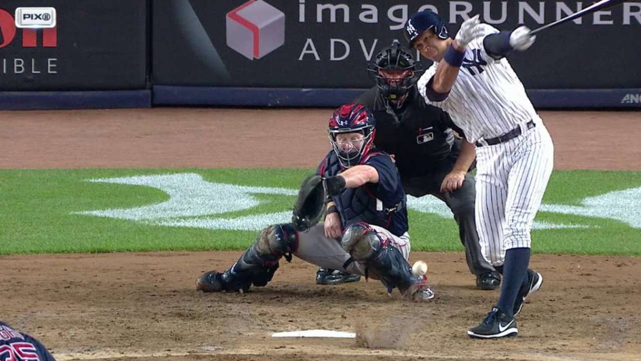 A-Rod gets Yanks' first hit