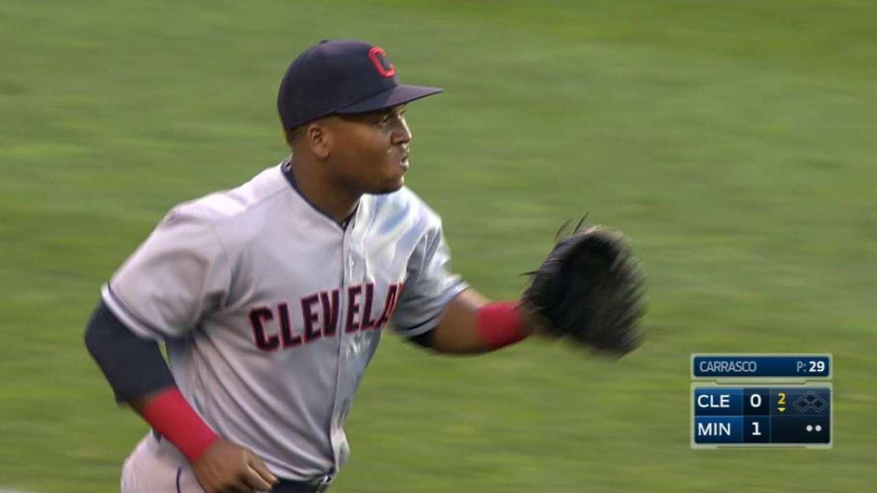Ramirez's catch in foul ground
