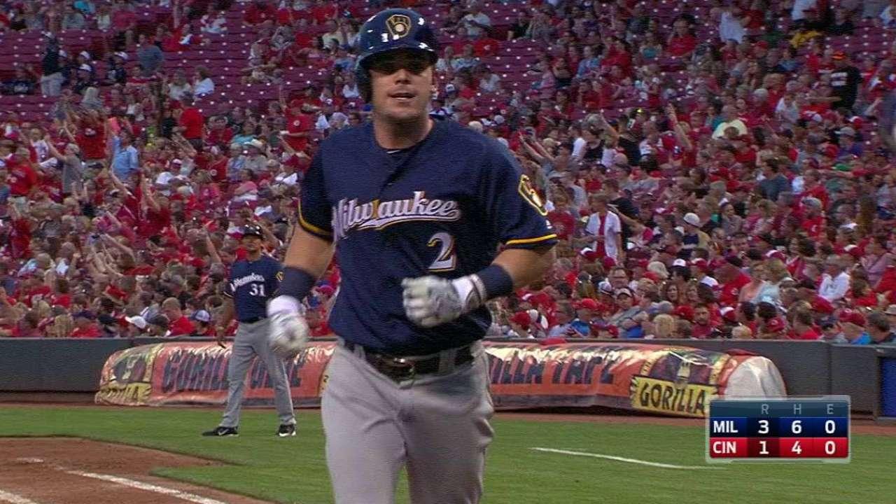 Gennett's solo home run