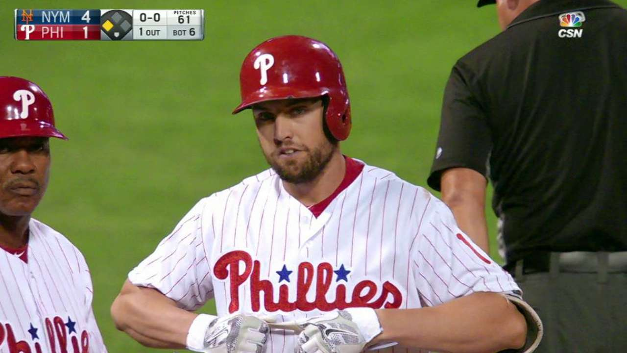 Bourjos' RBI triple in the 6th