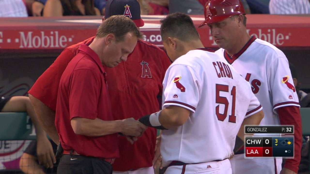 Choi, Marte to help fill Angels' void at first