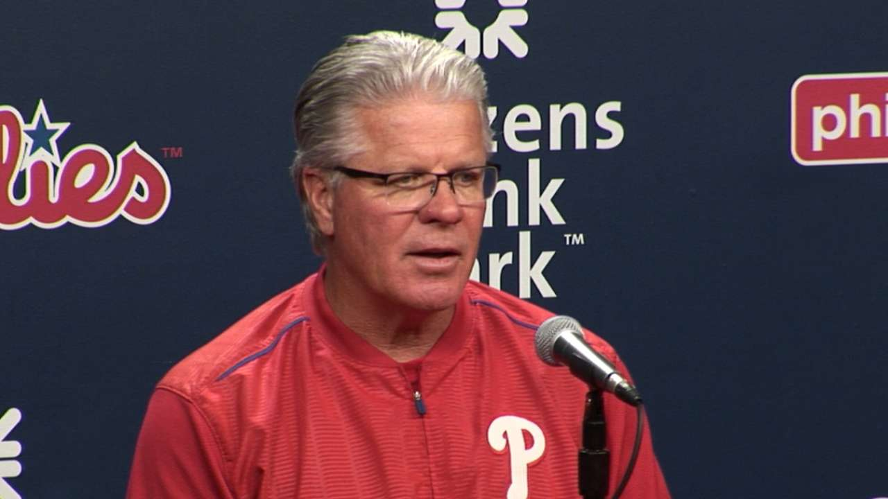 Mackanin on 5-3 loss to the Mets