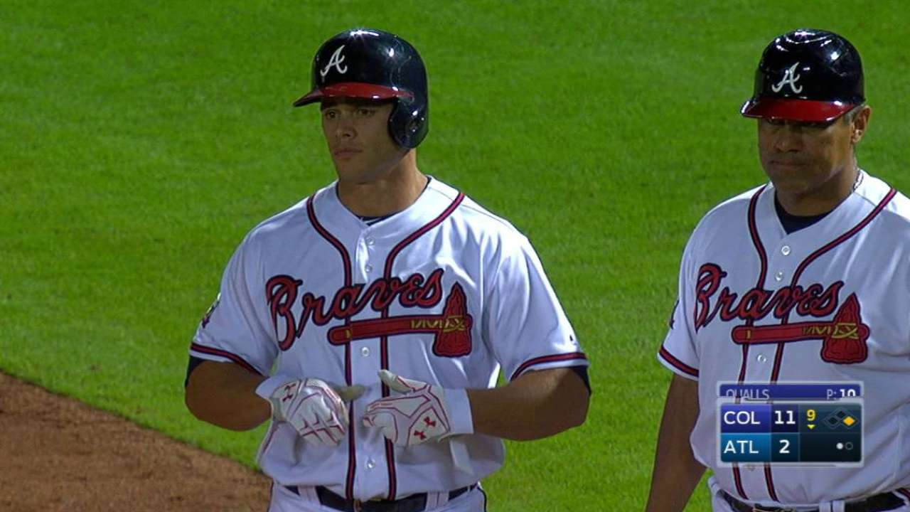 Flowers' injury gives Recker chance behind plate
