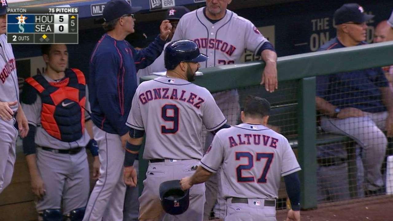 Correa's two-run double