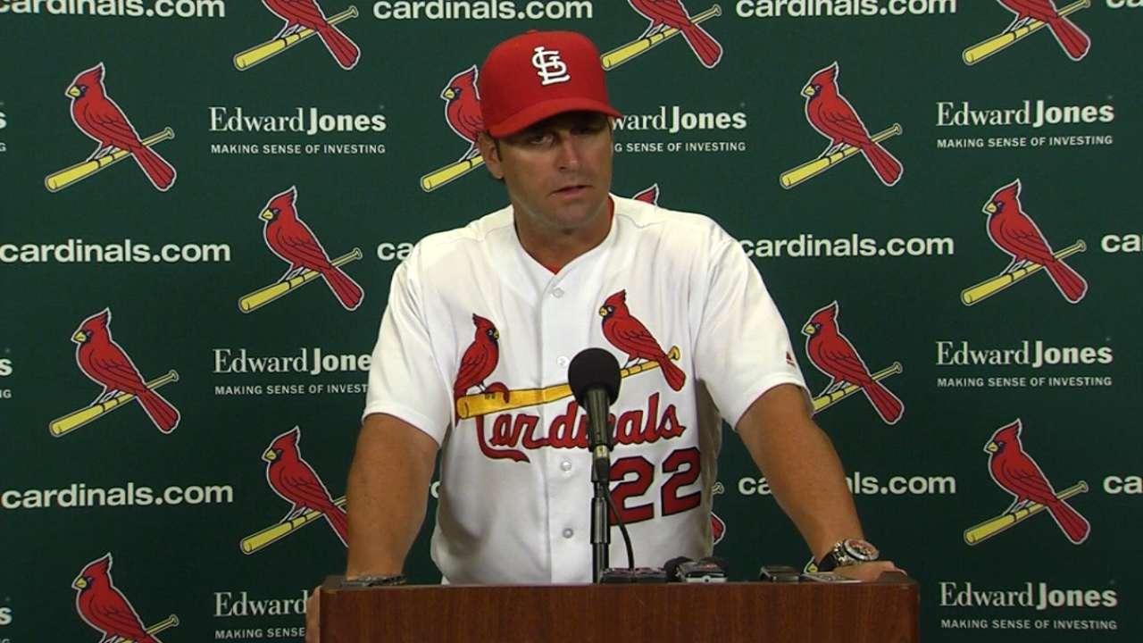 Matheny seeks answers after loss to Marlins