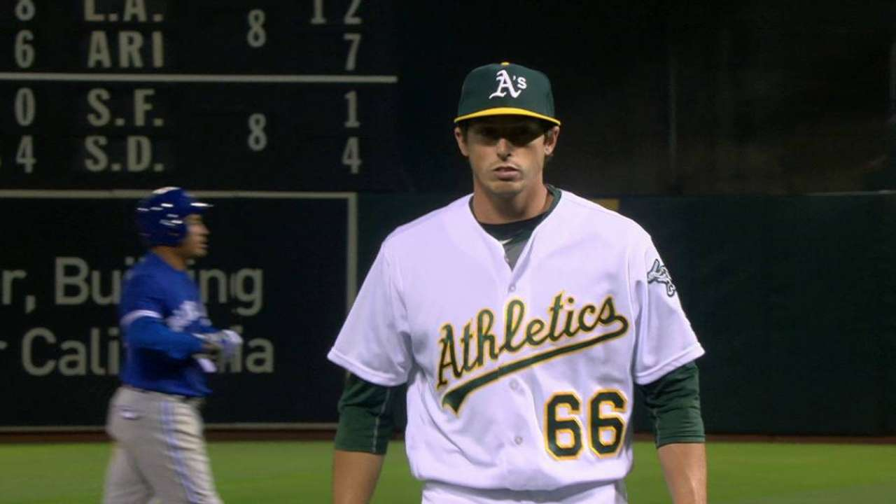 A's make youth movement with Healy's promotion