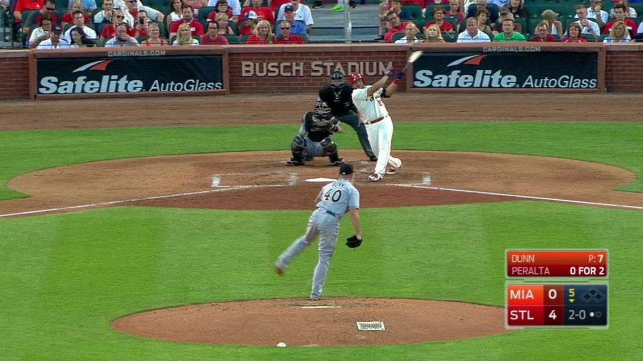 Wainwright lanza pelota de 3 hits; S.L. vence a Miami