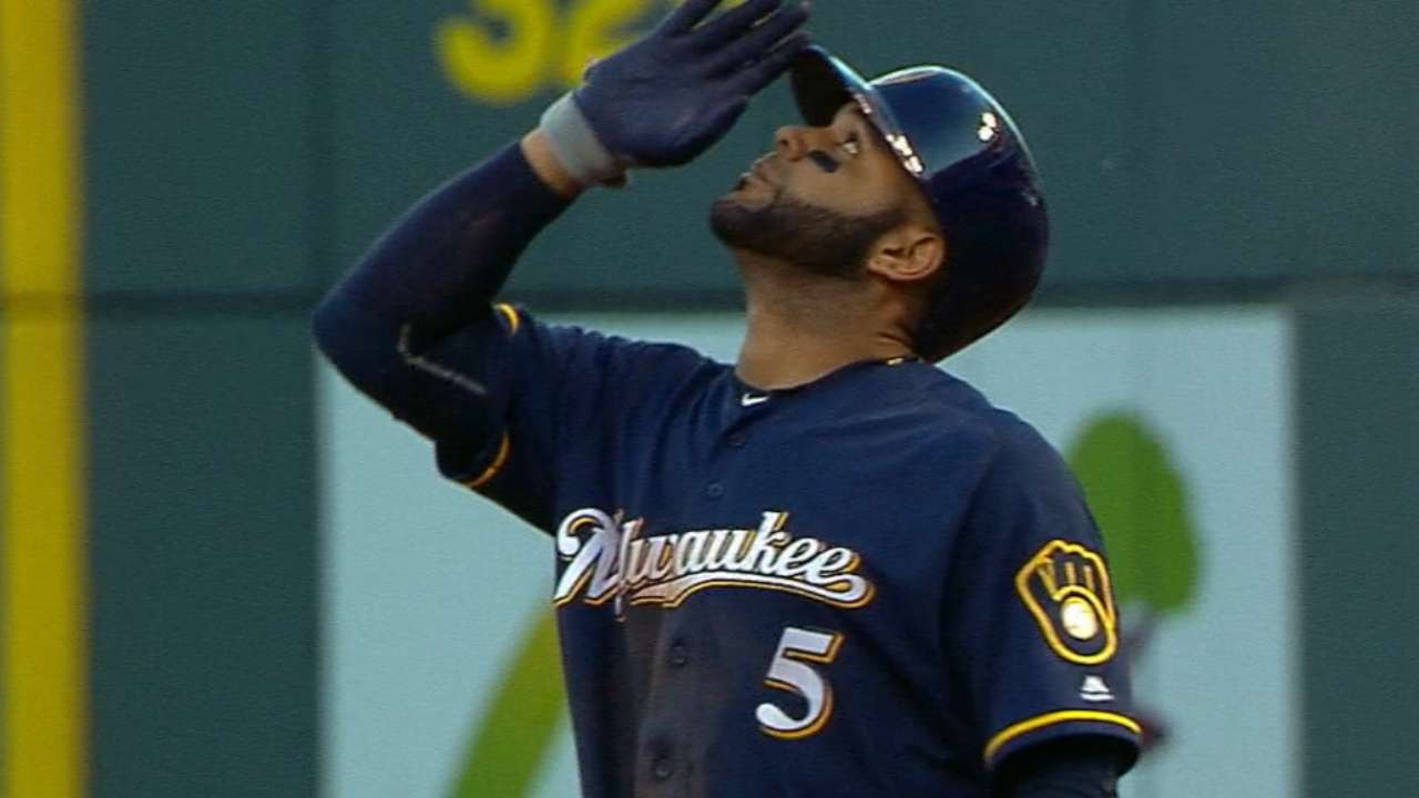 2 big innings help Brewers roll against Reds
