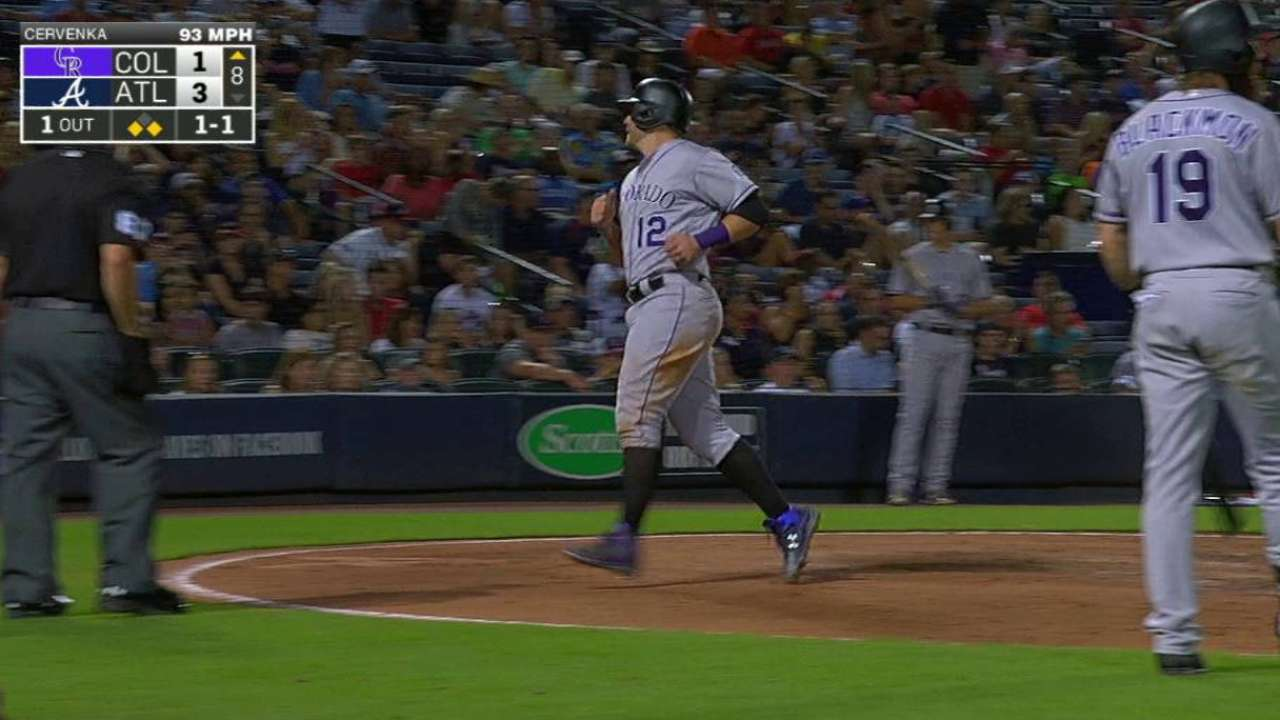 Wild pitches sink Braves in loss to Rockies