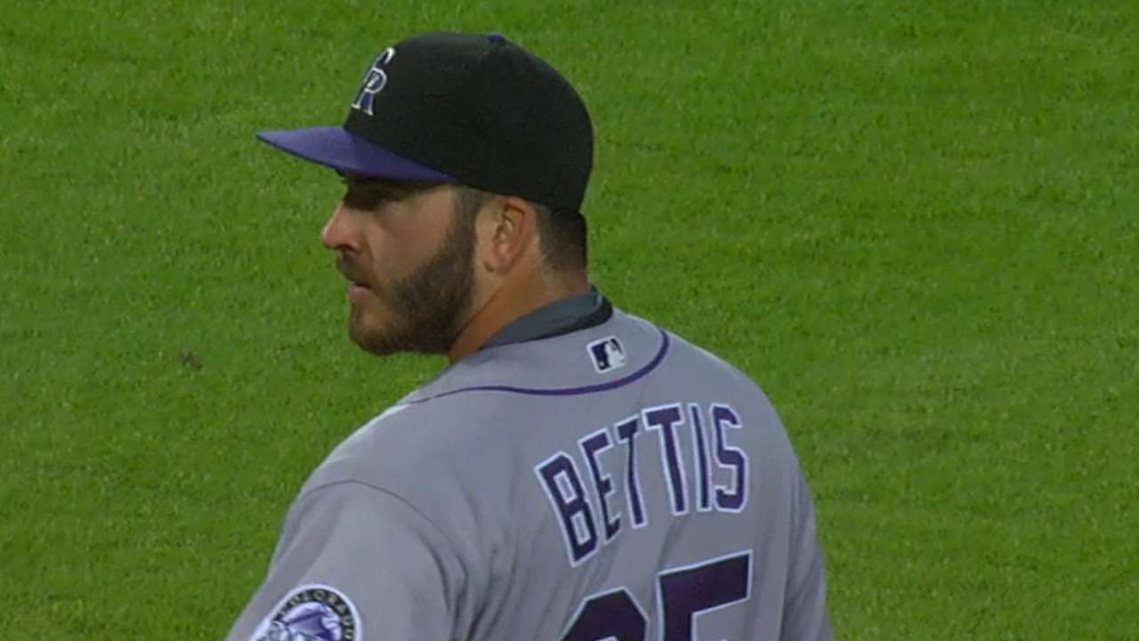 Bettis' quality start