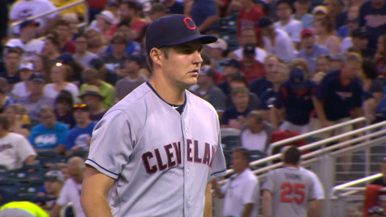 Bauer pitches into the 7th
