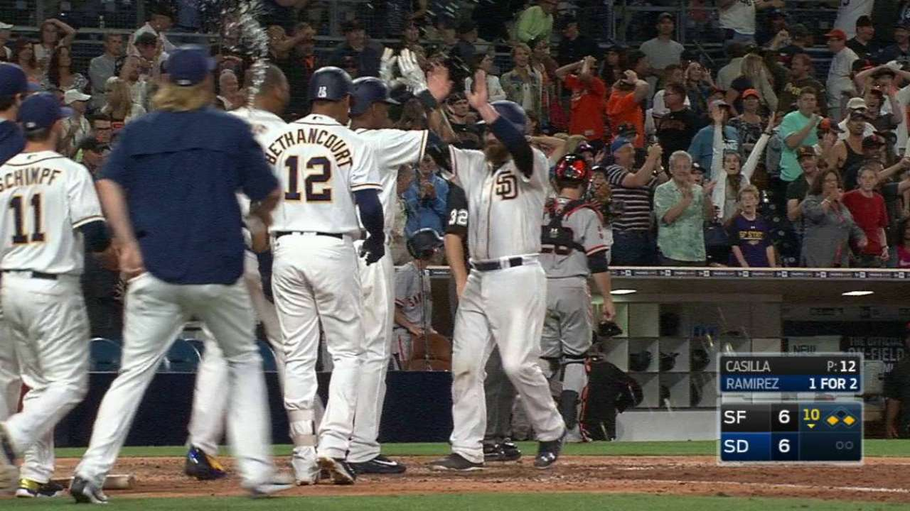 Balk of the town: SD wins in weird way