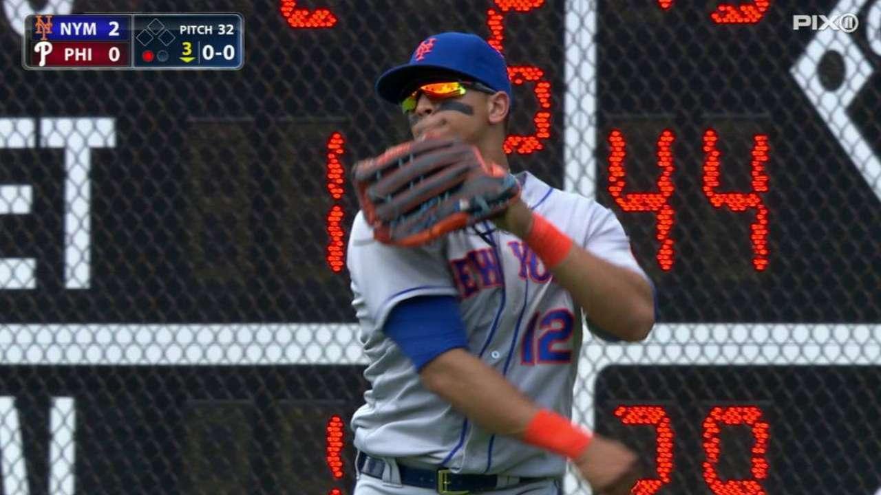 Lagares rejoins Mets; Duda back today