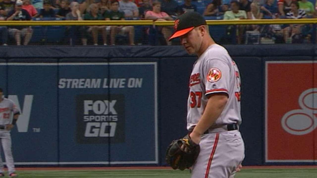 Bundy's first MLB start