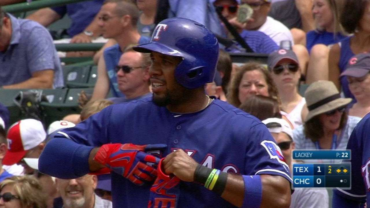 Andrus' RBI single in the 2nd