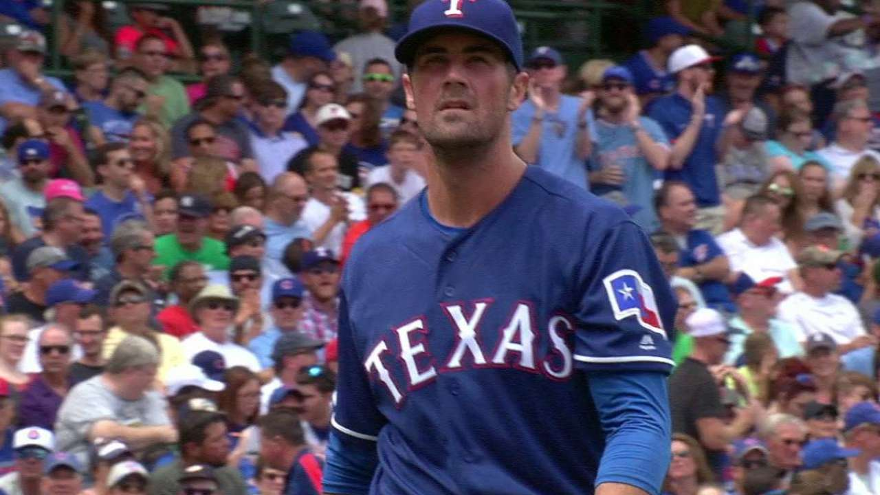 Hamels' six straight strikeouts