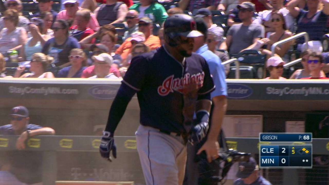 Tribe heats up, secures win after Gomes' exit
