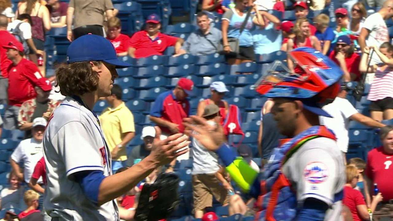 Mets 5, Phillies 0: Dominant Shutout by Jacob deGrom Leads Mets…