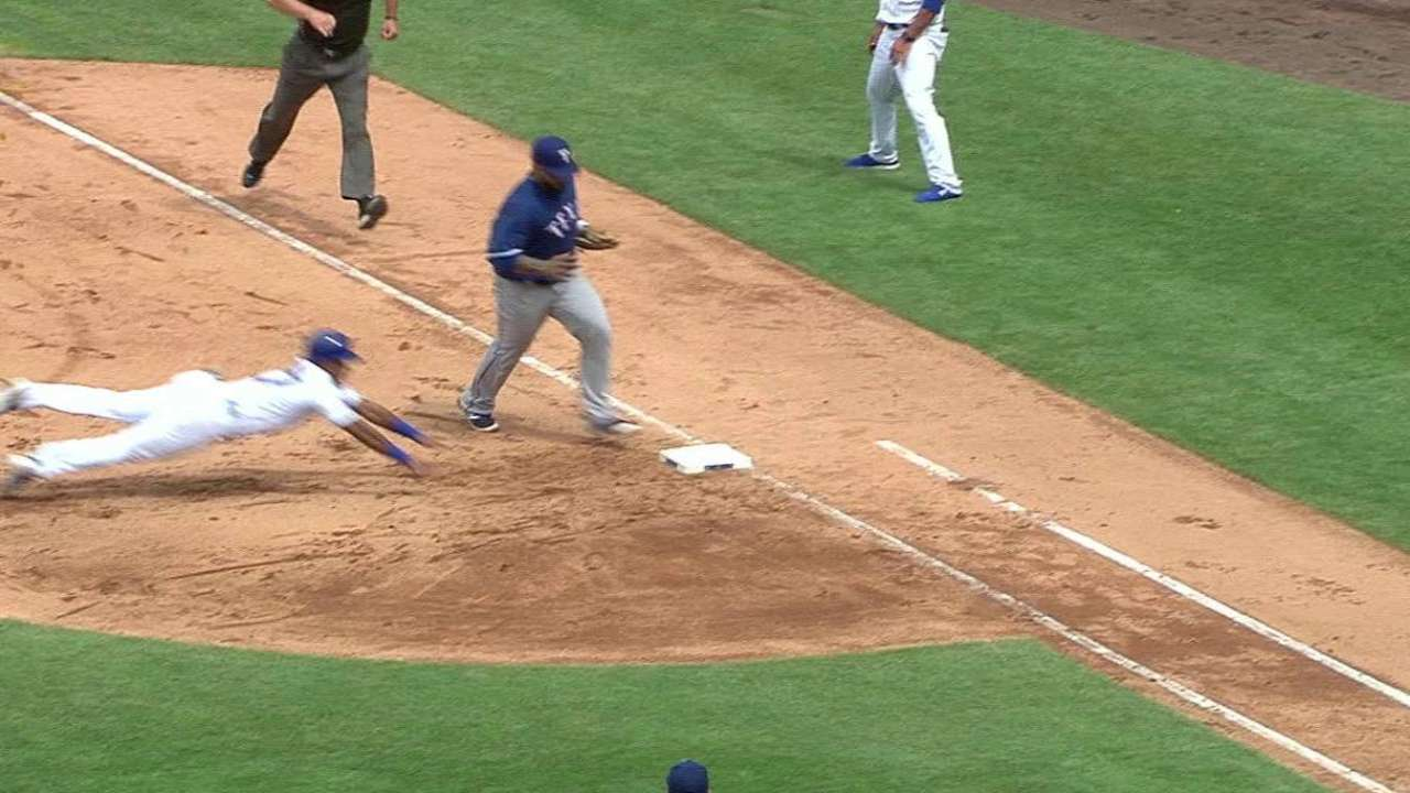 Fielder's unassisted double play