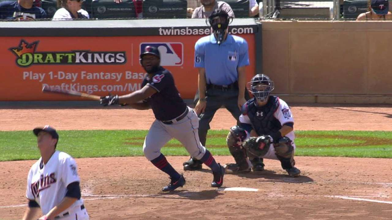 Almonte's ground-rule double