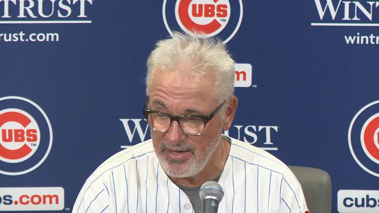 Maddon on 4-1 loss to Rangers