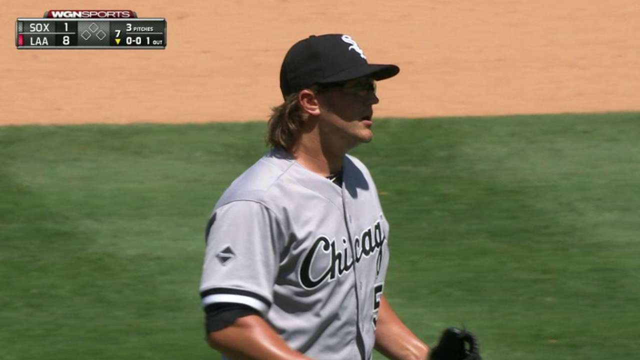 Fulmer's first career strikeout