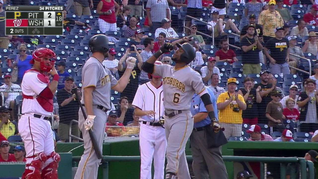 'Time for a home run,' so Marte delivers