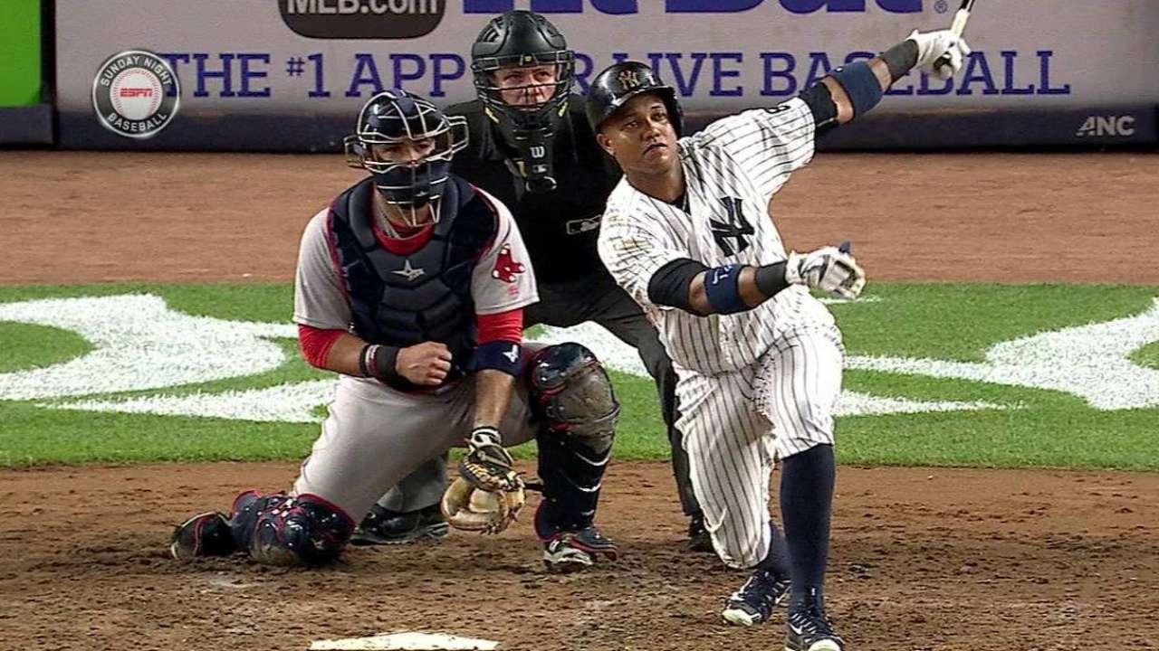 Yankees se llevaron el del honor contra Medias Rojas