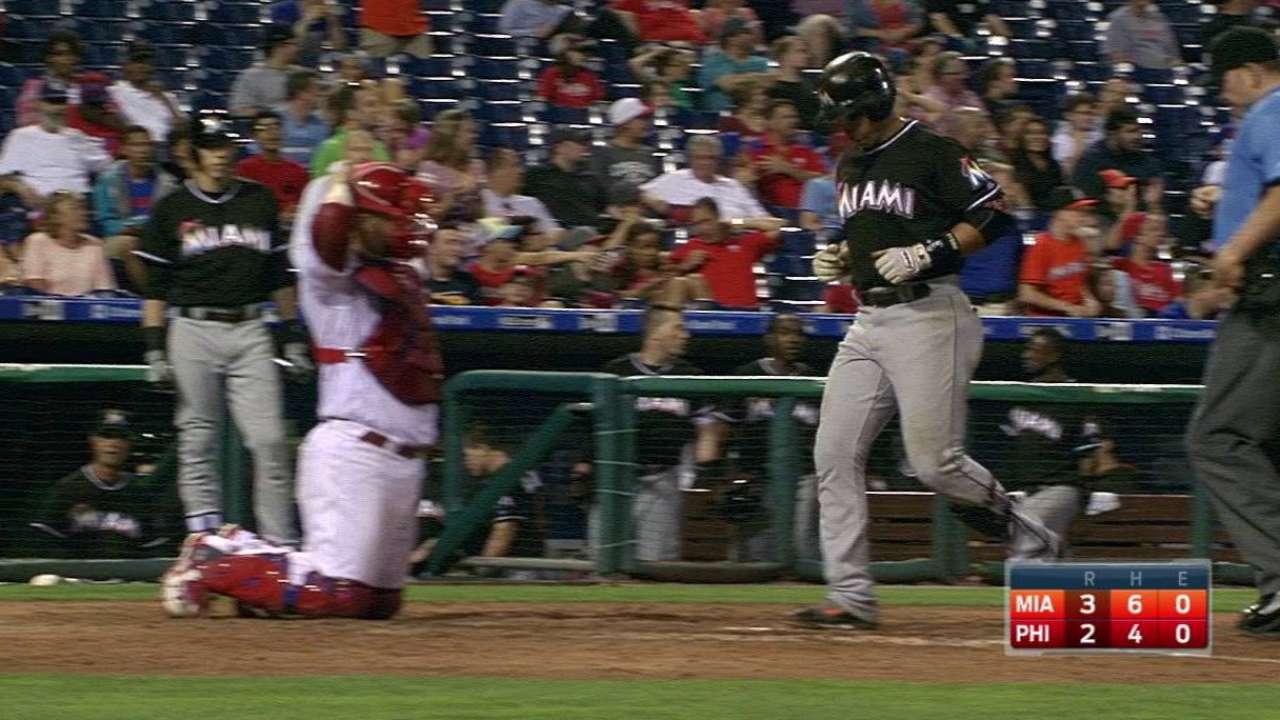 Prado's go-ahead homer