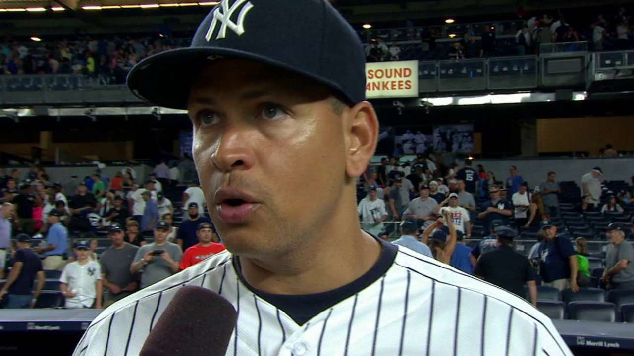 Rodriguez talks about homer, win