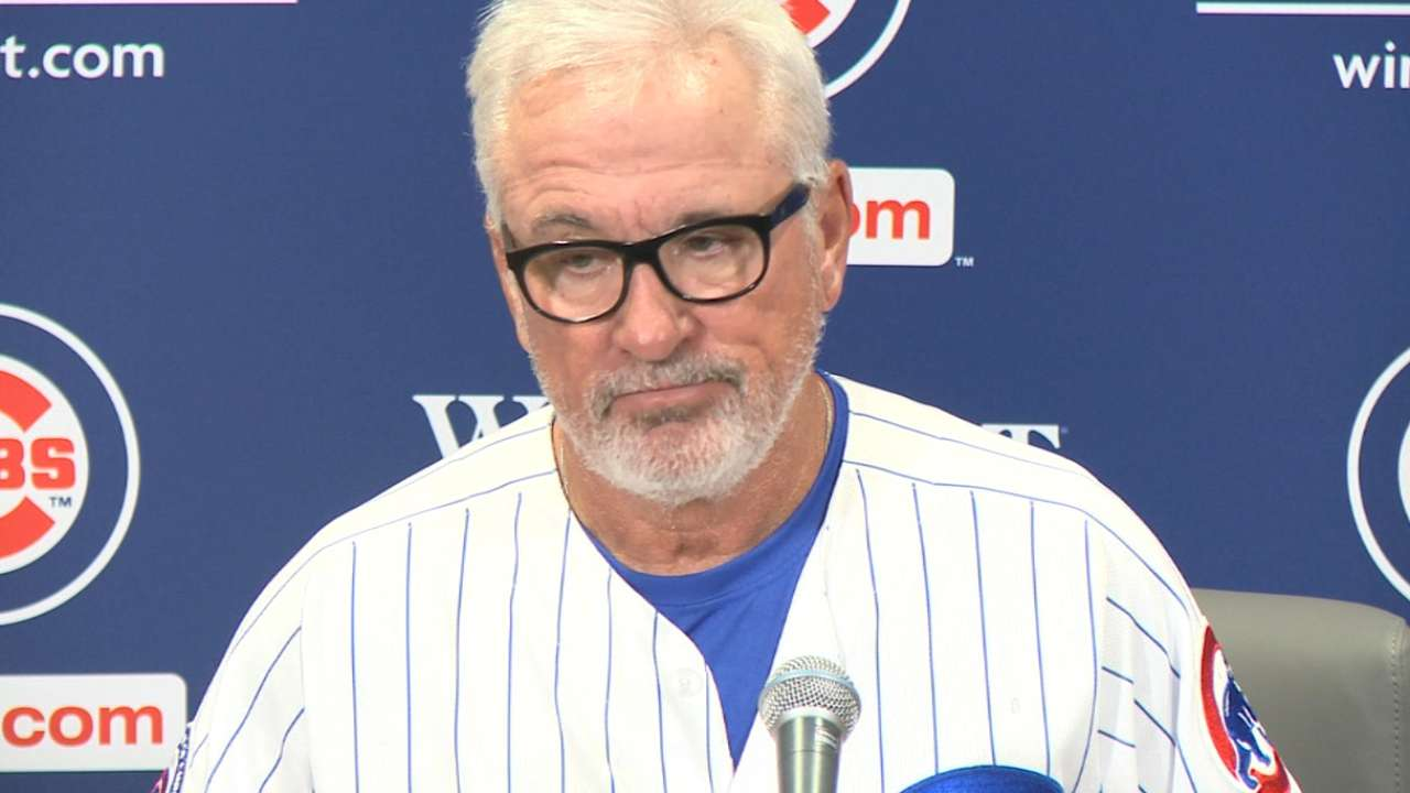 Maddon on win vs. the Mets